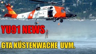 YU91 NEWS: GTA STREAM mit Küstenwache & weniger Videos auf YouTube etc.