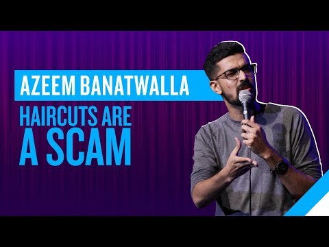 EIC: Haircuts Are A Scam | Azeem Banatwalla Stand-Up (видео)