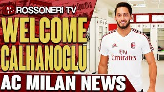 Hakan Calhanoglu becomes AC Milan's sixth signing of the summer. Let us know your thoughts in the comments!SUBSCRIBE for more AC Milan videos: http://www.RossoneriTV.comSUPPORT Rossoneri TV by making a donation: http://patreon.com/rossoneritvFOLLOW our social media accounts:► Twitter: http://www.twitter.com/RossoneriTV► Facebook: http://www.facebook.com/RossoneriTV► Instagram: http://www.instagram.com/RossoneriTV► Google+: http://plus.google.com/+RossoneriTVChannel