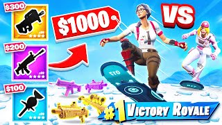 DRIFTBOARD Shopping CHALLENGE in Fortnite!