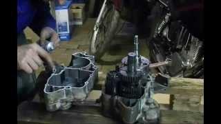 8. KTM 200 EXC Racing engine rebuild