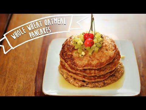 Oatmeal Pancakes | Healthy Breakfast Recipe  | Kiddie's Corner With Anushruti