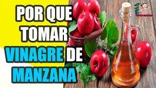 Por qué deberías de tomar vinagre de sidra de manzana todas las noches... El vinagre de sidra de manzana es un ingrediente...