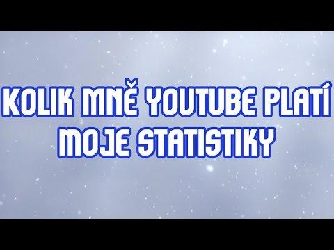 Kolik mně youtube platí - Moje statistiky
