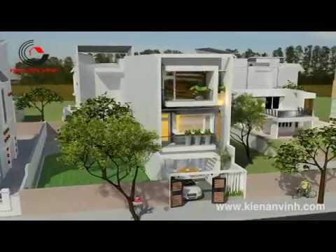 Thiết kế xây nhà đẹp và hiện đại