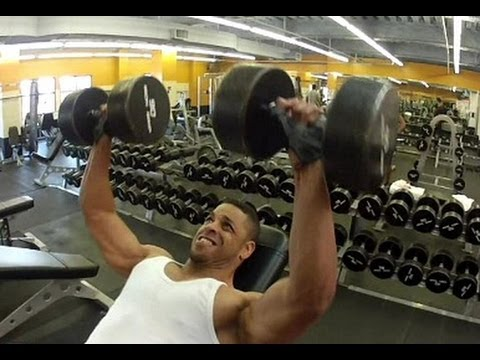 "Chest & Triceps Workout With Lord Keith & Lord Kevin ""Bodybuilding Workout"" @hodgetwins"