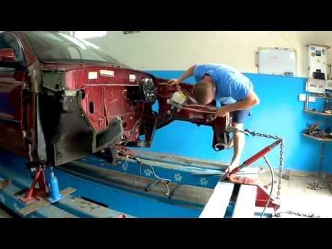 Рихтовка крыла ваз 2106 видео уроккузовной ремонт
