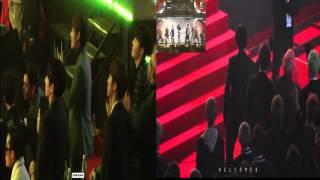 Video 160217 BTS reaction to Big Bang ( Bae Bae, Bang Bang Bang, We like 2 party ) MP3, 3GP, MP4, WEBM, AVI, FLV Januari 2019