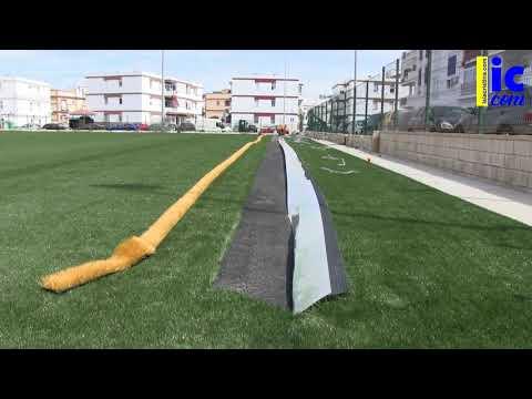 Nuevo Campo Municipal de Isla Cristina en la Barriada de Punta del Caimán
