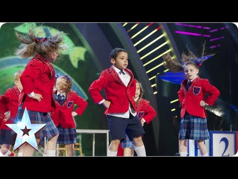 Pre - The kids have blinged up their blazers and truly know how to move. See them slide into the final! See more from Britain's Got Talent at http://itv.com/talent...