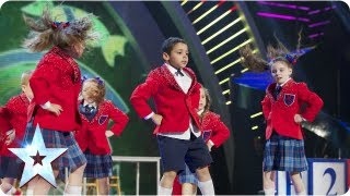 Pre-Skool rule the playground with their dance moves | Final 2013 | Britain's Got Talent 2013