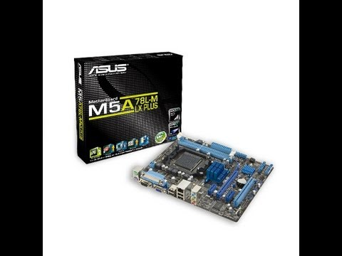 Unboxing & Review Asus M5A78L-M LX PLUS AM3+
