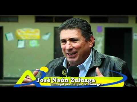 Susto de Concejal Naún Zuluaga, fue descuido