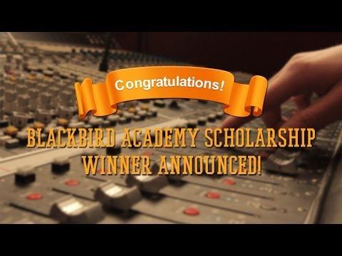 Blackbird Academy Pensado Scholarship Winner