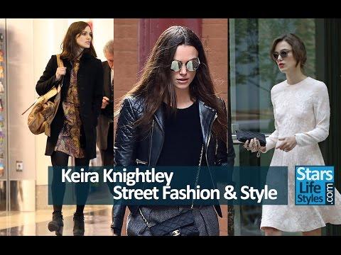 Keira Knightley's Fashion & Street Style | English Actress