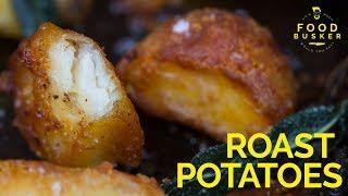 ROAST POTATOES | How to make roast potatoes crispy by Food Busker
