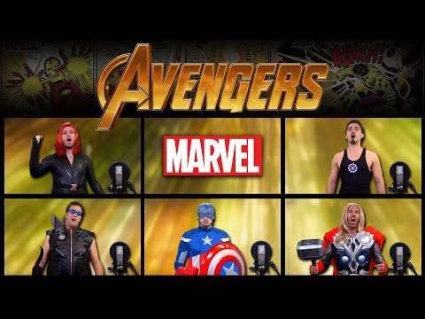 "Alan Silvestri  ""The Avengers Theme"" Cover by The Warp Zone"