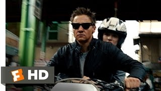 The Bourne Legacy  7 8  Movie Clip   Motorcycle Chase  2012  Hd