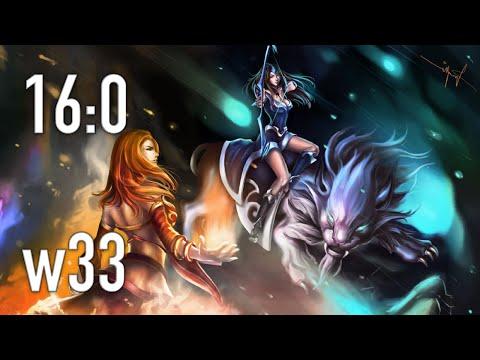 w33 on Immortal Mirana 16:0 7k MMR Gameplay