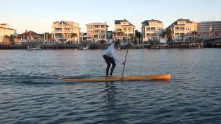 SUP Clinic with Larry Cain