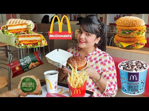 I only ate MCDONALDS for 24 HOURS Challenge | Food Challenge