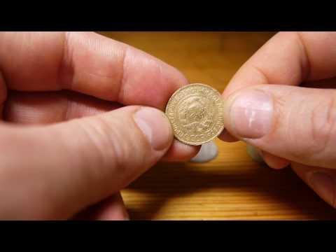 Чистка никелевых монет в домашних условиях
