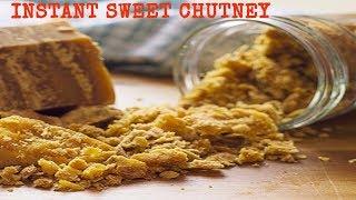 INSTANT SWEET CHUTNEY FOR CHILDREN  SIMPLE AND TASTY  TENGINAKAYI CHUTNEY