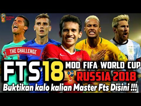 Download & Instal  Fts 18 Mod Fifa World Cup Russia 2018 | Piala Dunia Apk Data