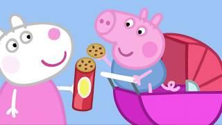 Peppa Pig Português Brasil  O Porquinho Bebê  Peppa Pig