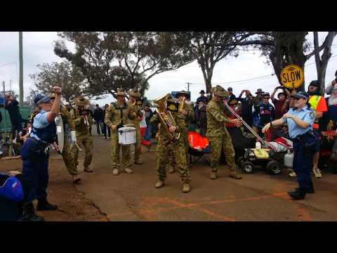 The Australian Army Band (AAB) - Killing in the name of