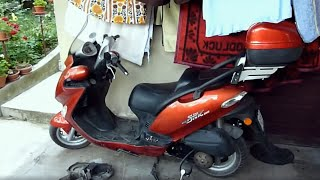 8. Kymco Grand Dink/Grand Vista 250 cam or timing chain noise.