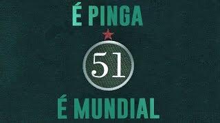 A TV Palmeiras/FAM foi até a cidade de Santa Cruz das Palmeiras (SP) para revelar uma curiosidade sobre a cachaça 51. Porque 51 é pinga sim... Mas 51 é ...
