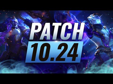 BEST Champions TIER List – League of Legends PRESEASON Patch 10.24