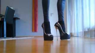 High Heels 20 Cm Mit Metallabsatz