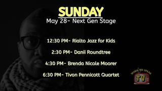 Jermaine Sain - 2017 Atlanta Jazz Festival Artist Lineup video