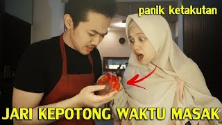 Video PRANK PACAR JARI KEPOTONG WAKTU MASAK !! MP3, 3GP, MP4, WEBM, AVI, FLV April 2019