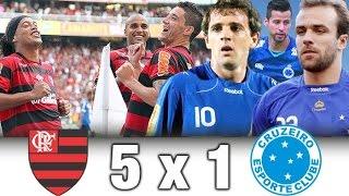 Flamengo 5 x 1 Cruzeiro * Brasileiro 2011 * Melhores Momentos