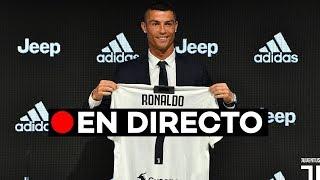 En directo: La presentación de Cristiano Ronaldo con la Juventus