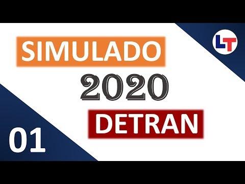 SIMULADO DETRAN QUESTÕES 2020 - AULA 01 #SimuladoLegTransito #Detran2019