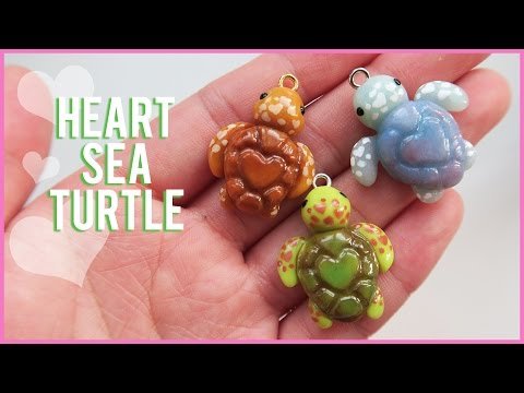 tutorial fimo - tartaruga charm