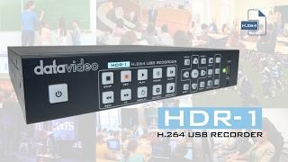 Datavideo HDR-1 H.264 USB Recorder