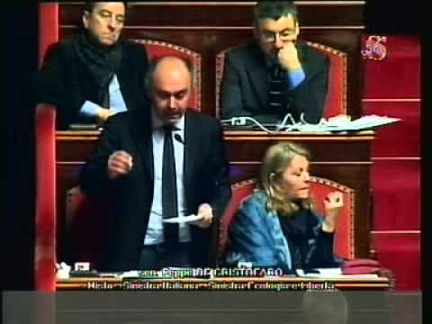 """SEN.DE CRISTOFARO (MISTO/SI-SEL) : """"LIBIA.IL PARLAMENTO NON PUÒ PIÙ ESSERE TENUTO ALL'OSCURO"""""""
