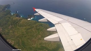 Video Awesome landing in Bali / Denpasar with Indonesia AirAsia - Airbus A320 PK-AXX MP3, 3GP, MP4, WEBM, AVI, FLV Agustus 2018