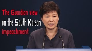 The Guardian View On The South Korean Impeachment- Right Thing To Do.The removal of South Korean president Park Geun-hye, by a court upholding her impeachment, may well affect relations with North Korea, the US and China at an anxious time in the region especially if Moon Jae in, the opposition MP currently leading what is likely to be a crowded field, succeeds her. The internal repercussions are also critical. South Koreans are used to corruption scandals exposing the failings of their leaders and the extraordinary economic and political power of the chaebols, the huge family run conglomerates such as Samsung. Politicians and business people usually escape with at most token punishment. Ms Park is the first democratically elected leader removed from office, thanks to her incompetence and authoritarianism, perhaps in some part her gender, and growing disaffection among voters angered by what they call Hell Joseon a country where elites protect each other while ordinary people face faltering growth, increasing inequality, casualised labour and cut throat competition. Curbing excessive presidential authority is a first step. But the chaebols, which fuelled Korea's development under Ms Parks dictator father, have also amassed far too much power and are holding their country back. They, too, must be reformed.========= Join Us ============** Channel Link : http://bit.ly/2aUXmso** HGTV Dream Home: https://youtu.be/E7dexSblJD4** It's So Hot Out Cockroaches Might Start Flying in NYC: https://youtu.be/p_4sXyQHoms** Bones may belong to teen sacrificed to Zeus: https://youtu.be/BvzMY2JM-2Q** Chimney Fire burns 850 acres near Nacimiento Lake: https://youtu.be/N7Xav9guuOI** Hundreds of Tiny Montserrat Tarantulas Hatch in Zoo: https://youtu.be/BtglHldFhVQ** Bill Clinton Talks Email Controversy: https://youtu.be/DHE1pCdQgNE** Donald Trump Recruits Election Observers to Avoid a 'Rigged' Election: https://youtu.be/hkbfqrS2aIg** Historic' Louisiana Floods: https://youtu.be/OiyVaDKDVJ0** 2 wildfires in California send residents fleeing from homes: https://youtu.be/tQ9jbs1JNE0** Virginia Plane Crash - 6 Victims Identified: https://youtu.be/6xAgbVb1mO0** Explosion of Steam Pipe at Chinese Power Station Kills 21: https://youtu.be/VImgTAFR2RY** Huge fire and explosion destroys Md. apartment complex: https://youtu.be/Dm6JbfpxD18** Pilot fire grows to more than 7,700 acres: https://youtu.be/m98zL5CkyCM** Blind Kid Throws D backs First Pitch in Game: https://youtu.be/auBKq18TuiQ** Kuznetsov Scores World Class Goal ● Ice Hockey: https://youtu.be/vqZtuVe4YSM** Stipe Miocic knocks out Fabricio Werdum : https://youtu.be/1y0ZD3Y0NS0