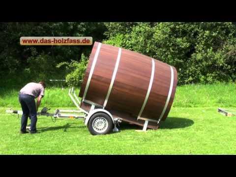 Das Holzfass einfache Anlieferung