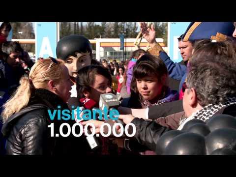 Tecn�polis: Un mill�n de visitantes en una semana.