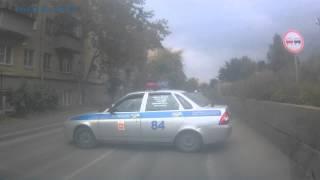 Эпичный полицейский разворот