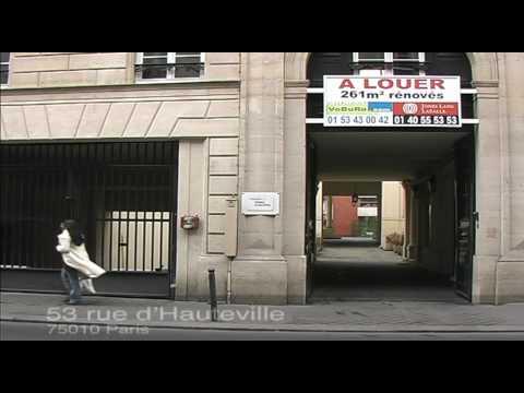 Office Space at 53 rue d'Hauteville, 75010 Paris.
