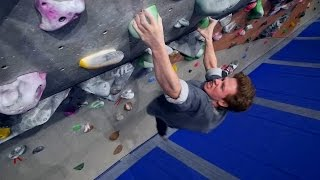 Nikken Is Pinching His Way Up A V10 This Bouldering Session! by Eric Karlsson Bouldering