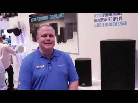 New Vector Performance Loudspeakers at InfoComm 2017